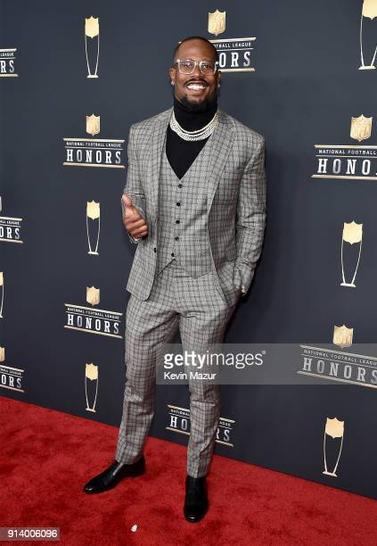 Player Von Miller attends the NFL Honors at University of Minnesota on February 3 2018 in Minneapolis Minnesota
