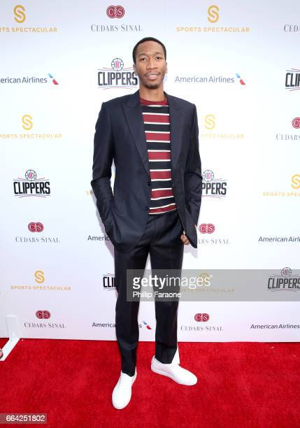 NBA player Wesley Johnson attends 32nd Annual CedarsSinai Sports Spectacular at W Los Angeles Westwood on April 3 2017 in Los Angeles California