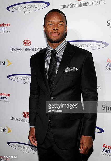 NFL player Will Allen arrives at the 2011 Cedars Sinai Sports Spectacular at Hyatt Regency Century Plaza on May 22 2011 in Beverly Hills California