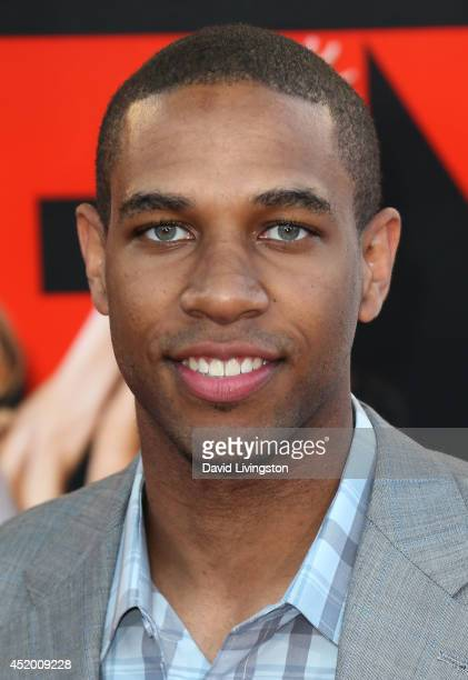 NBA player Xavier Henry attends the premiere of Columbia Pictures' 'Sex Tape' at the Regency Village Theatre on July 10 2014 in Westwood California