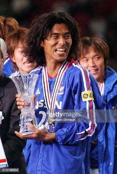 Player Yuji Nakazawa of Yokohama F.Marinos is seen after the J.League Championship second leg match between Urawa Red Diamonds and Yokohama F.Marinos...