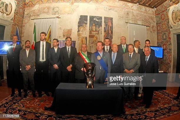 eurocup finals treviso presentation press conference 画像と写真