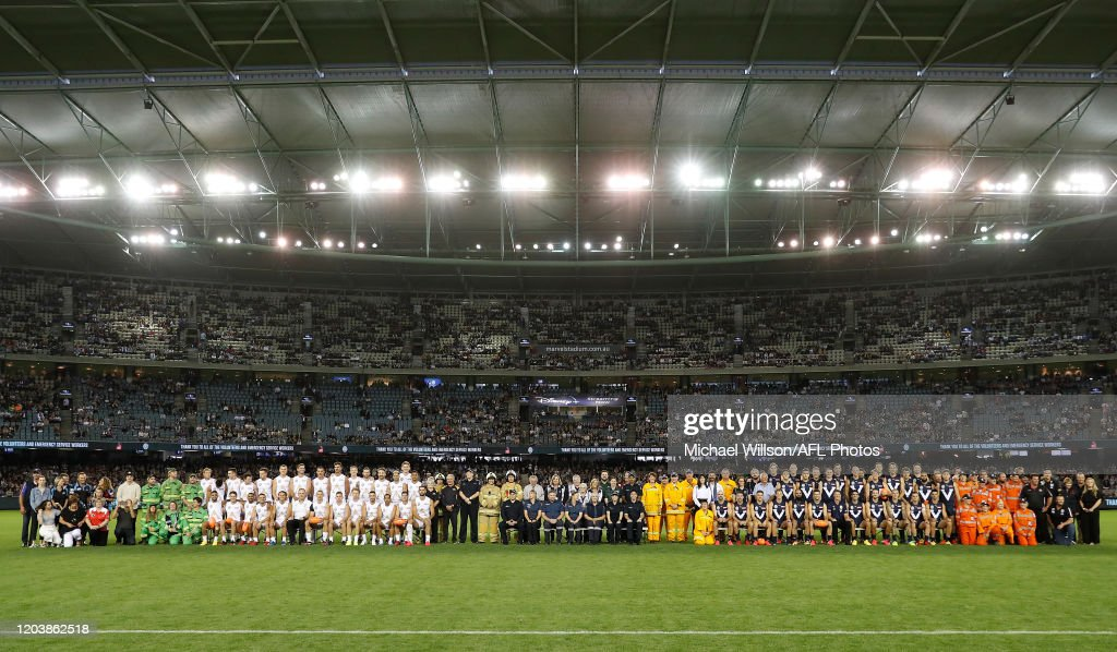 AFL Bushfire Relief State of Origin - Victoria v All Stars : News Photo