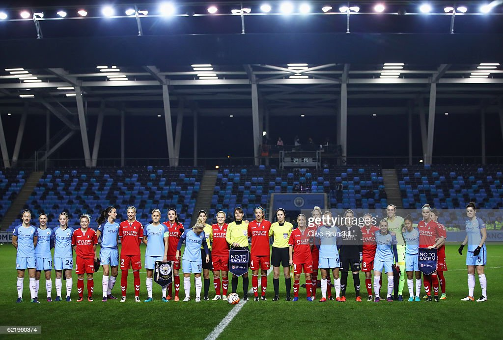Manchester City Women v Brondby IF Ladies - UEFA Women's Champions League : News Photo
