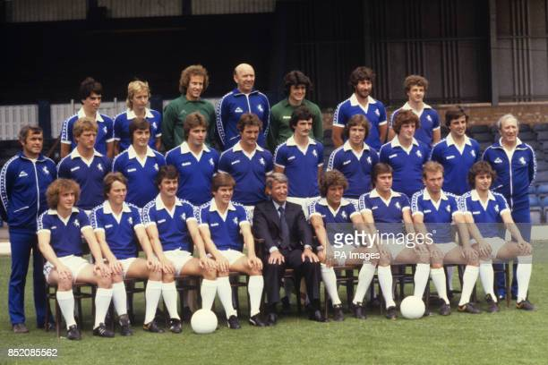 Players and officials of Gillingham FC for the 197980 season at Priestfield Stadium Back row Colin Ford Gary Armstrong Ron Hillyard John Short Steve...