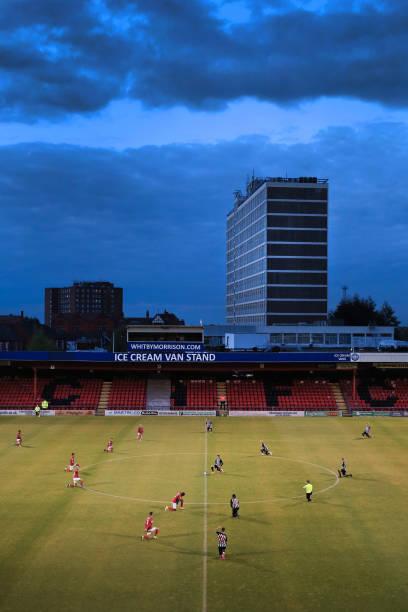 GBR: Crewe Alexandra v Newcastle United U21 - EFL Trophy