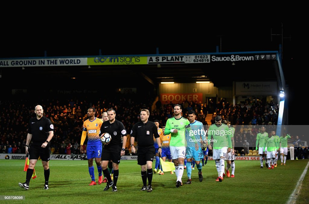 Mansfield Town v Cardiff City - The Emirates FA Cup Third Round Replay