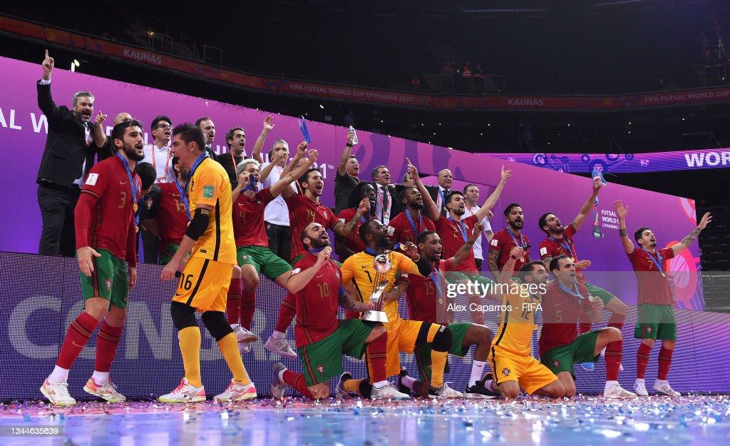 Argentina v Portugal: Final - FIFA Futsal World Cup 2021 : Fotografía de noticias