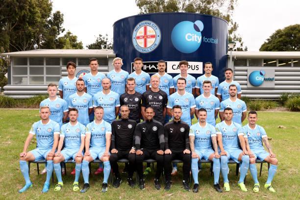 AUS: Melbourne City Team Photo Day