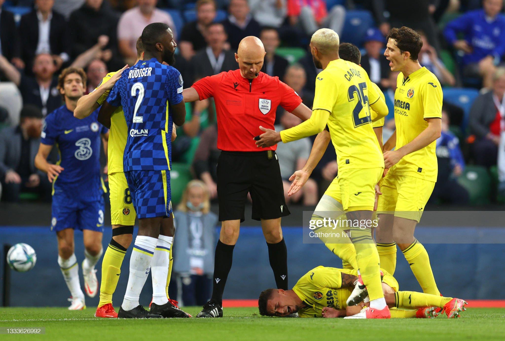 Chelsea FC v Villarreal CF – UEFA Super Cup 2021 : News Photo