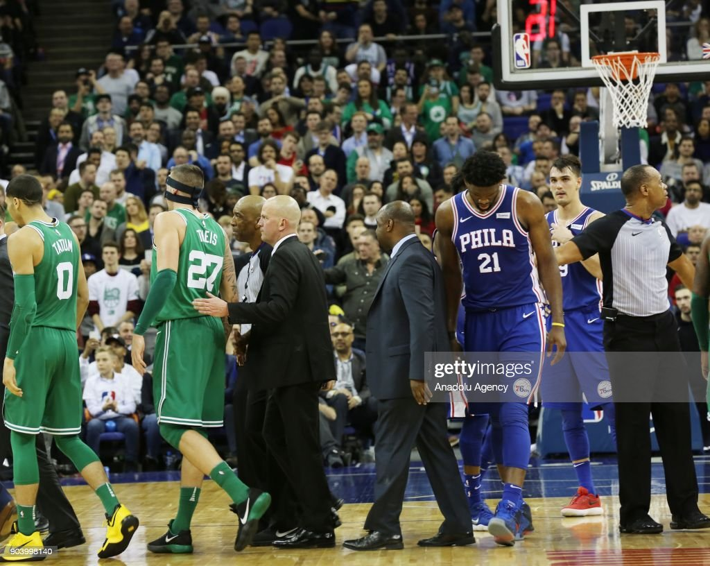 Boston Celtics vs Philadelphia 76ers: NBA : News Photo