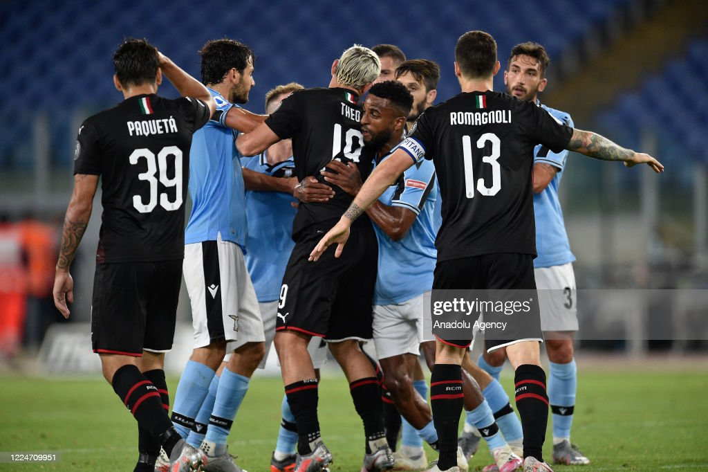 SS Lazio vs AC Milan: Serie A : News Photo