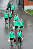kazan russia players arrive ahead an