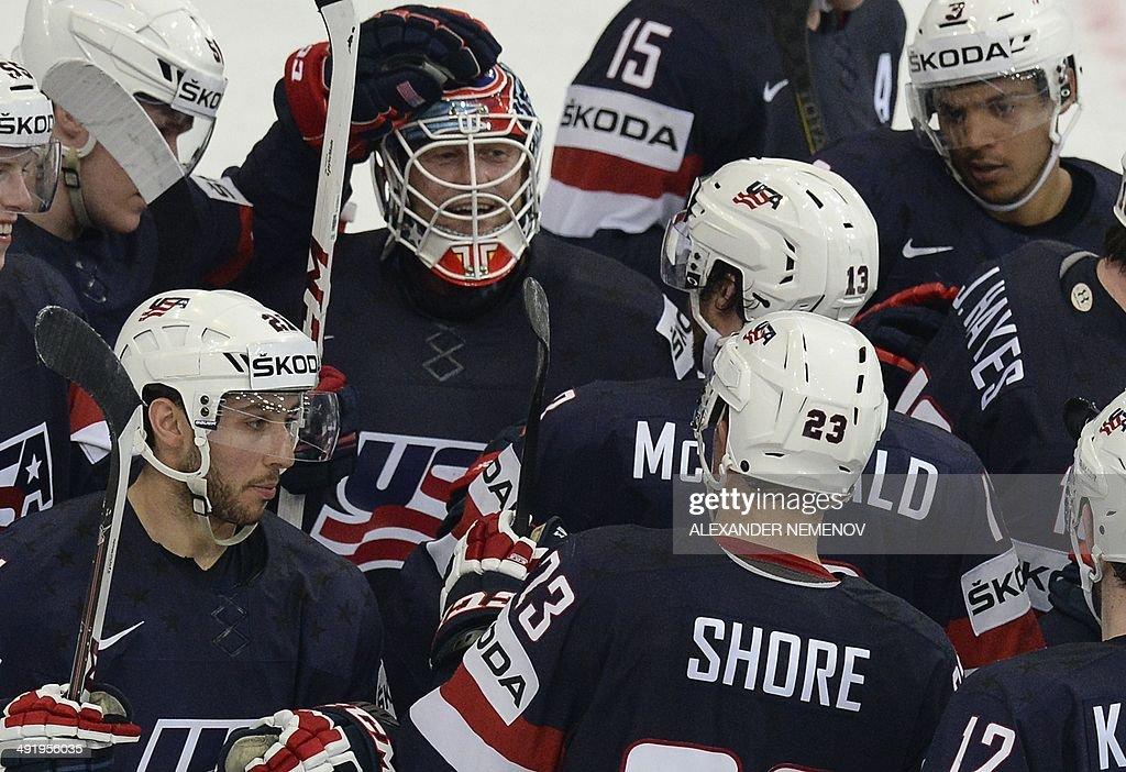 IHOCKEY-WORLD-USA-FIN : News Photo