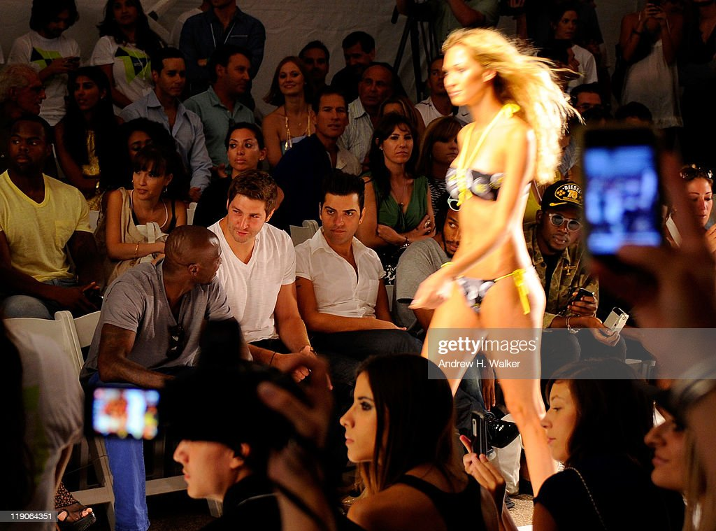 Diesel - Front Row - MBFW Swim 2012 : News Photo