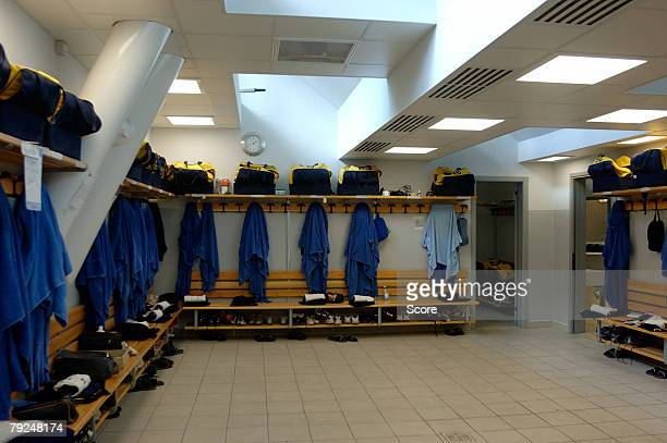 players' changing room - locker room stock pictures, royalty-free photos & images