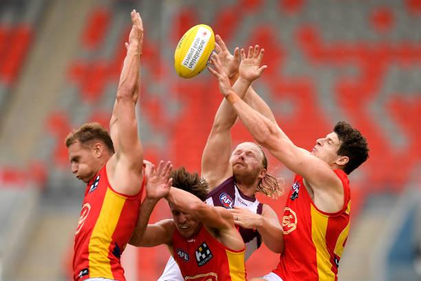 AUS: AFL Practice Match - Gold Coast v Brisbane