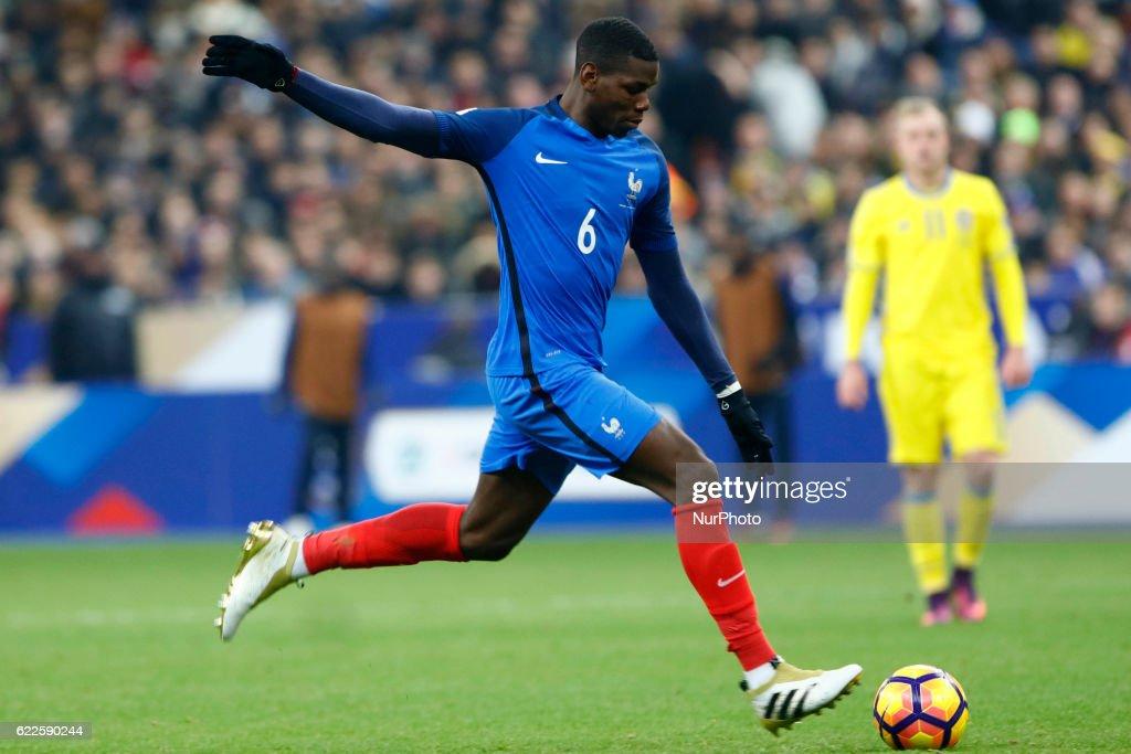France v Sweden - FIFA 2018 World Cup Qualifier : News Photo