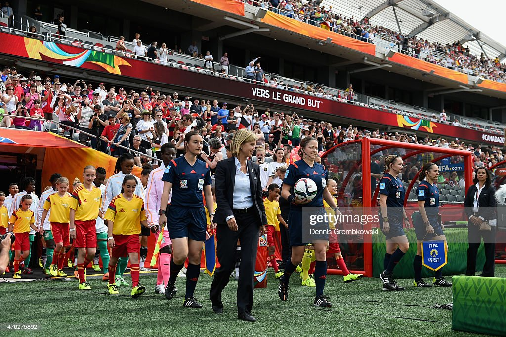 Germany v Cote D'Ivoire: Group B - FIFA Women's World Cup 2015 : News Photo