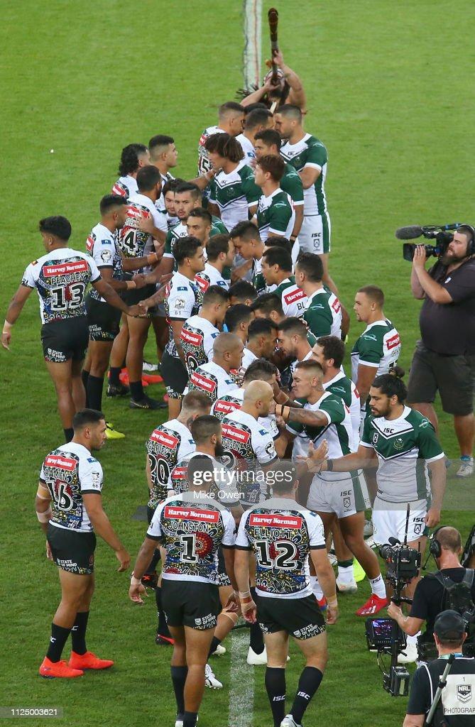 Indigenous All Stars v Maori All Stars : News Photo