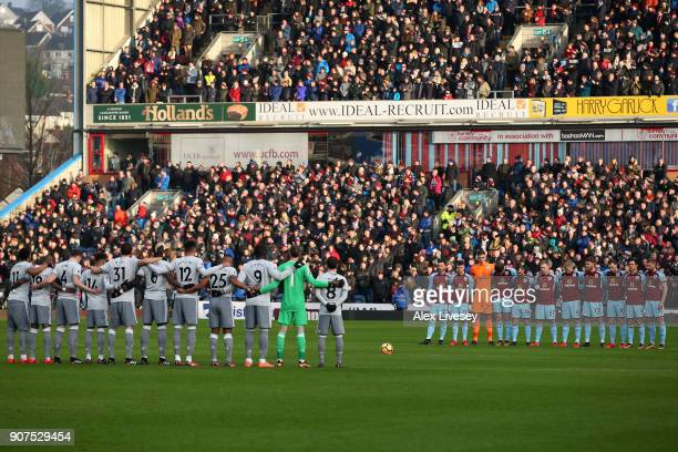 Players fans and officials remember exfootballer Cyrille Regis who passed away earlier this week prior to the Premier League match between West Ham...