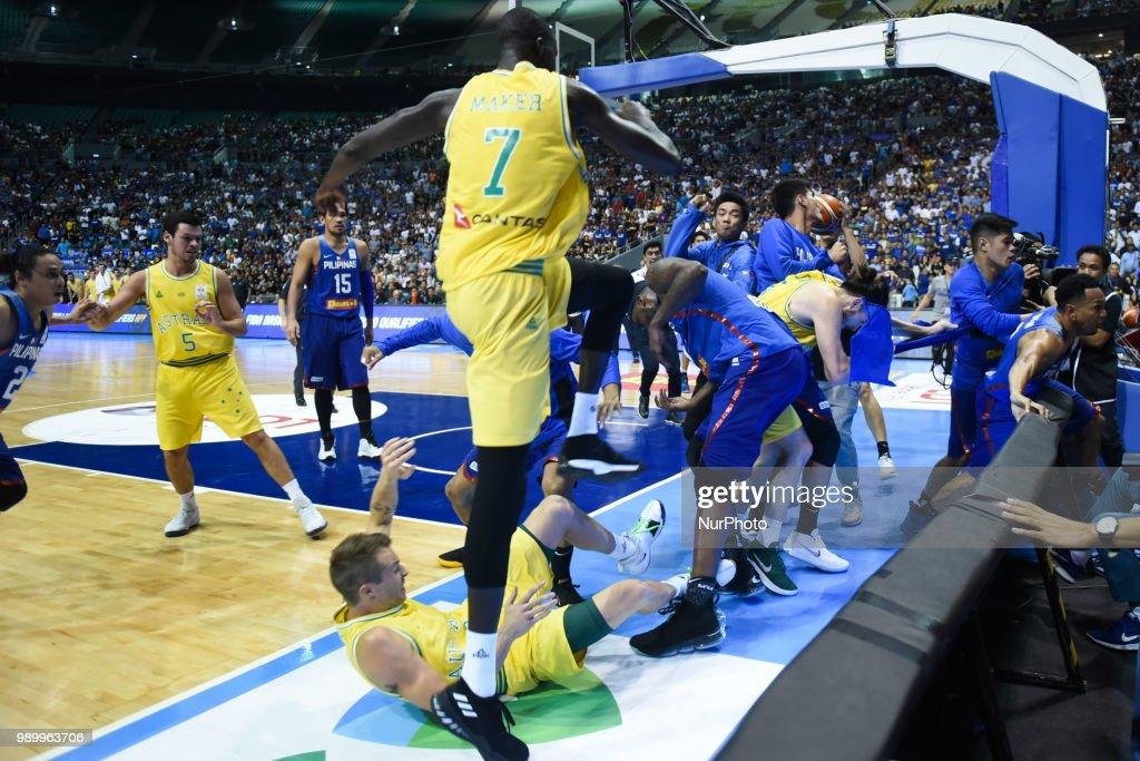 Philippines v Australia - FIBA Asian Qualifiers : News Photo