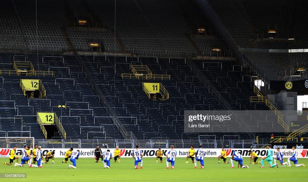 Borussia Dortmund v Hertha BSC - Bundesliga : News Photo