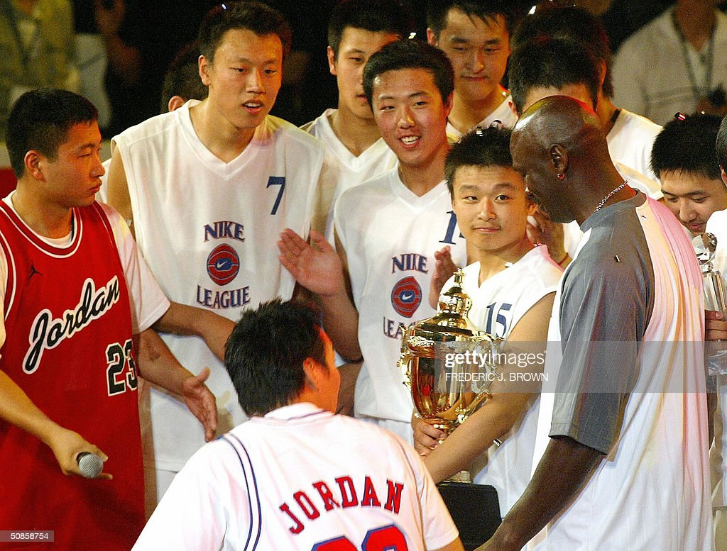 Players from the jubilant Shenyang #31 H