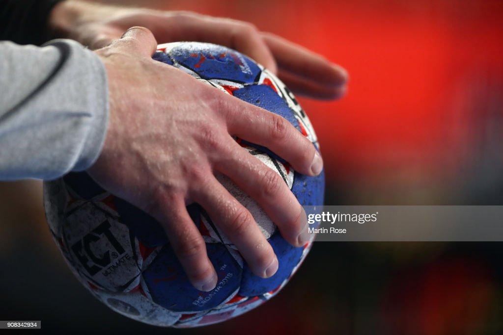 Germany v Denmark - EHF Euro Croatia 2018
