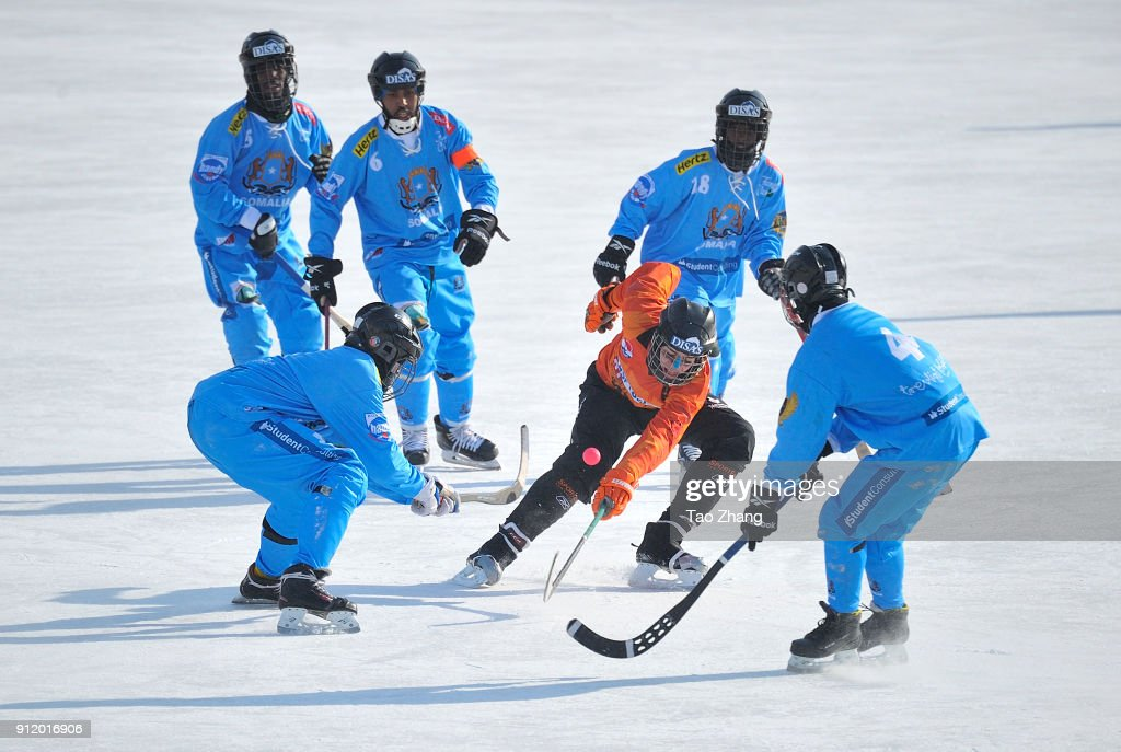 bandy men The duke and duchess of cambridge have gone head-to-head in a penalty shootout while learning about bandy hockey in  world bandy championships the men's .