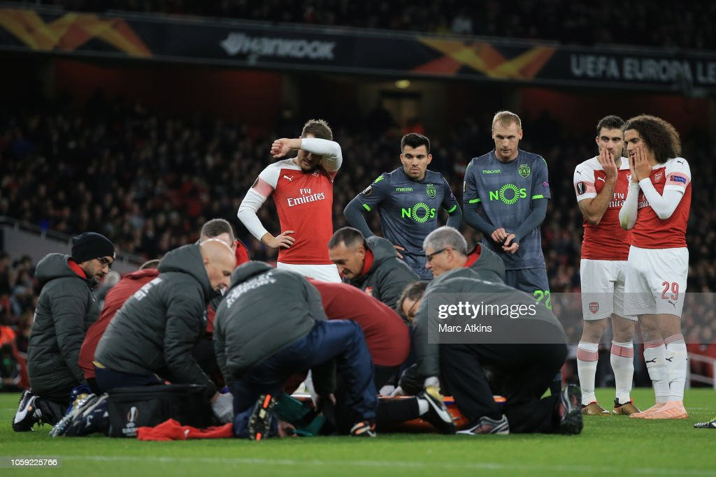 Arsenal v Sporting CP - UEFA Europa League - Group E : News Photo