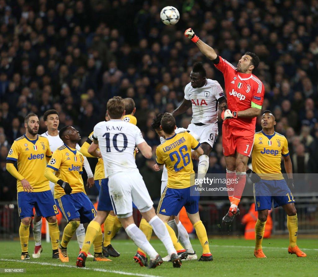 Tottenham Hotspur v Juventus - UEFA Champions League Round of 16: Second Leg : News Photo