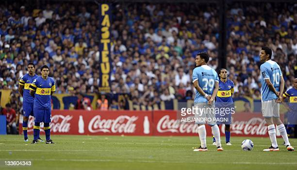 Players make a minute of silence in honour to the mother of Argentinian former player Diego Maradona Dalma Franco de Maradona after she passed away...
