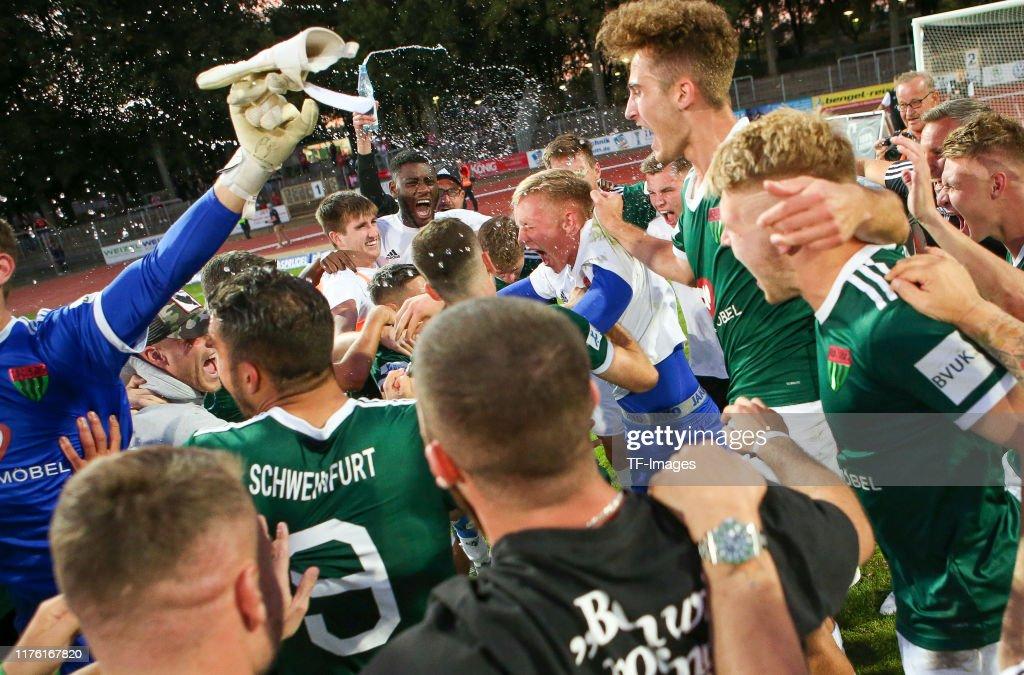 1. FC Schweinfurt v FC Ingolstadt - Toto-Pokal : News Photo