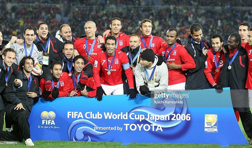 FIFA Club World Cup - Ahly Sporting Club v Club America: Third Place : News Photo