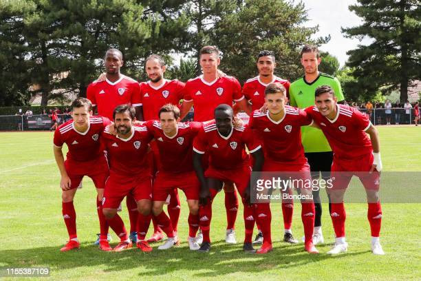 Players of Ajaccio during the Friendly match between Toulouse and Ajaccio on July 13 2019 in L'Union France