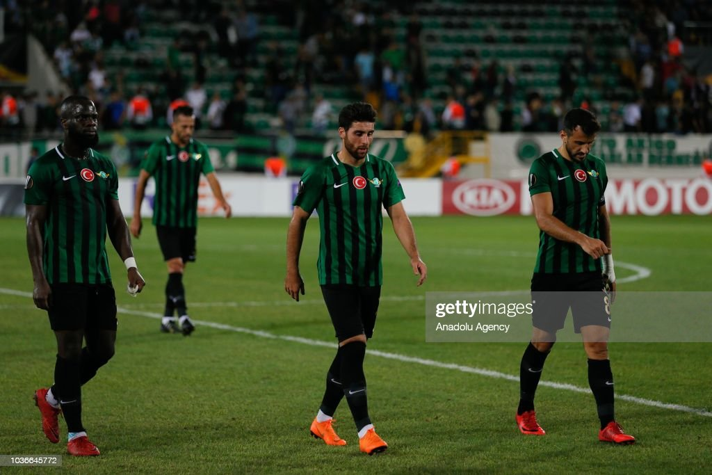 Akhisarspor vs Krasnodar: UEFA Europa League : Foto di attualità
