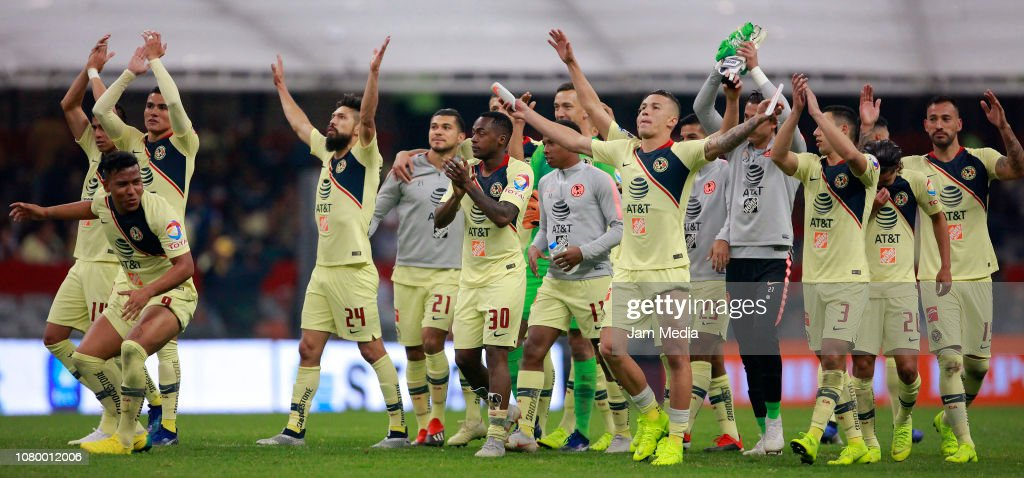America v Pumas UNAM -Playoffs Torneo Apertura 2018 Liga MX : News Photo