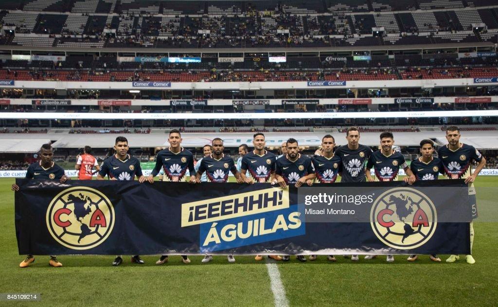 America v Veracruz - Torneo Apertura 2017 Liga MX : ニュース写真