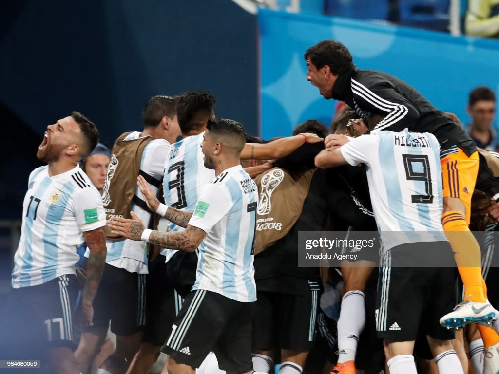 Nigeria v Argentina : Group D - 2018 FIFA World Cup Russia : News Photo