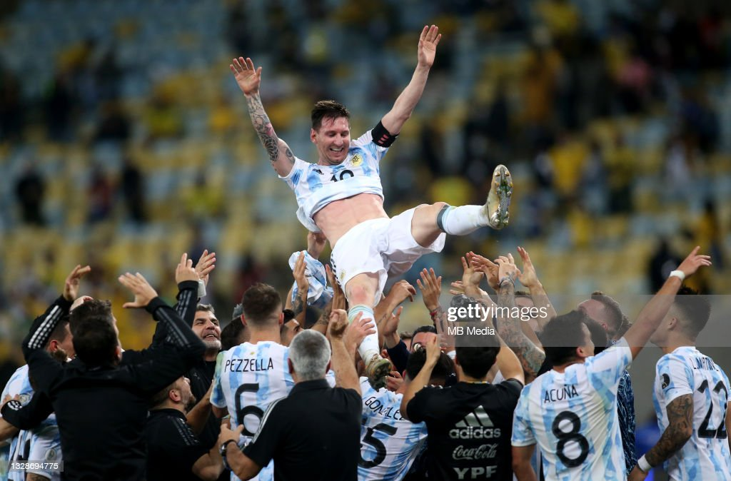 Brazil v Argentina: Final - Copa America Brazil 2021 : Photo d'actualité
