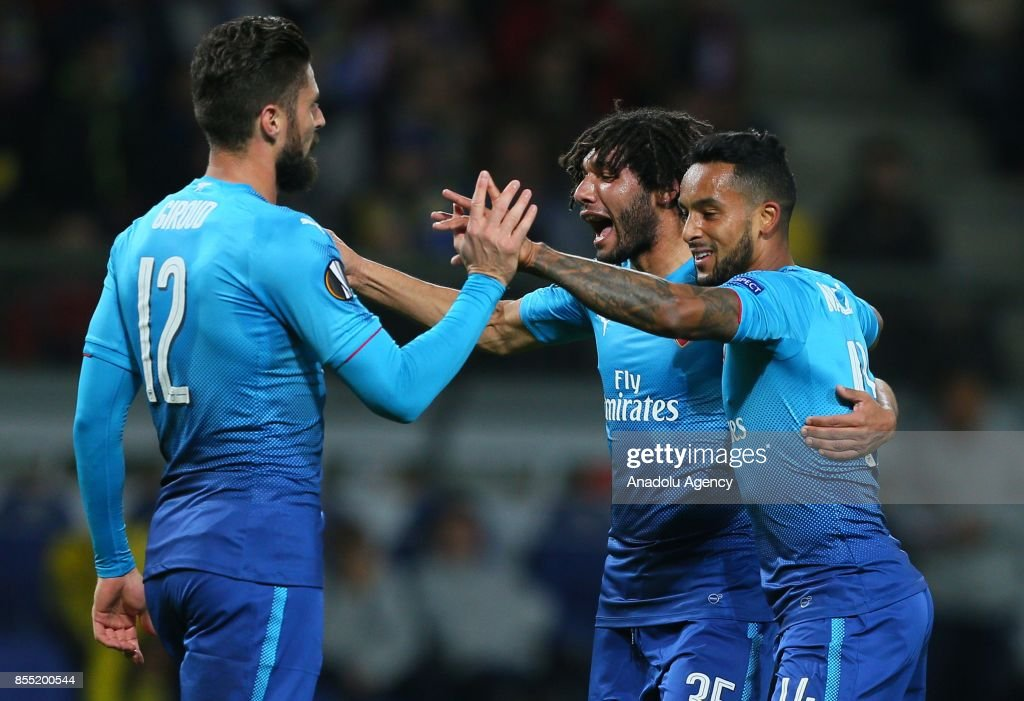 BATE Borisov and Arsenal FC: UEFA Europa League : News Photo
