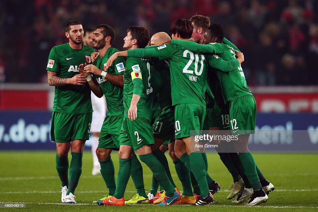 1. FC Koeln v FC Augsburg - Bundesliga : News Photo