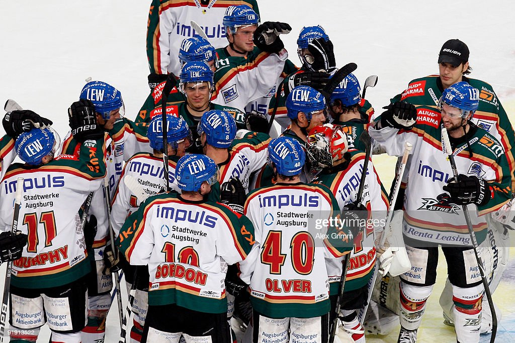 Len Augsburg adler mannheim v augsburger panther photos and images getty