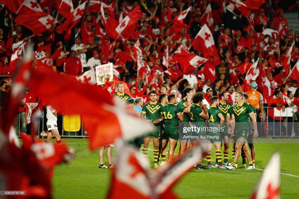 Tonga v Australia : News Photo