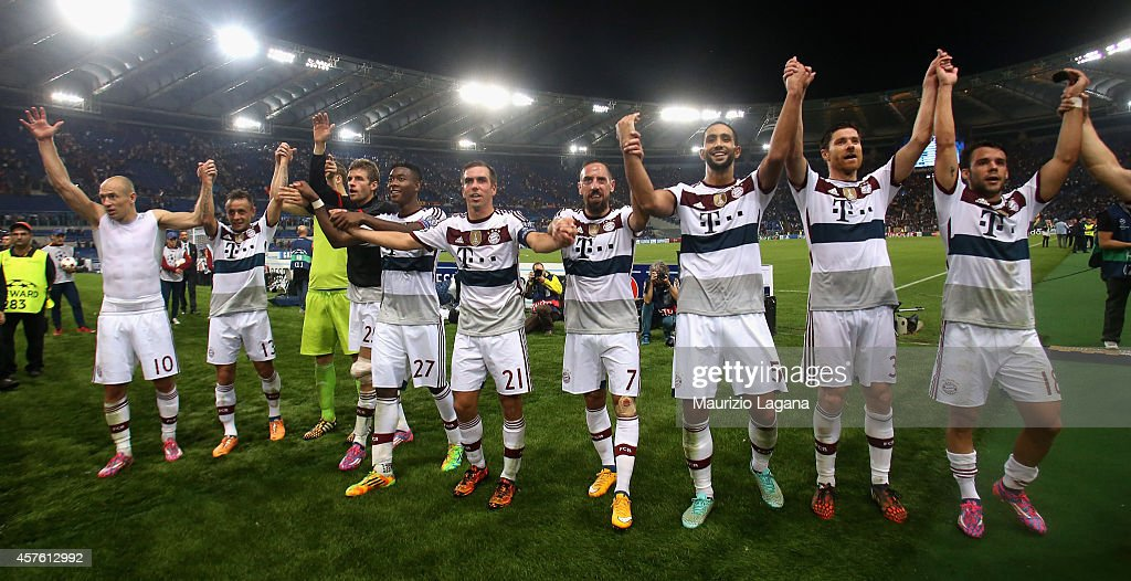 AS Roma v FC Bayern Muenchen - UEFA Champions League : News Photo