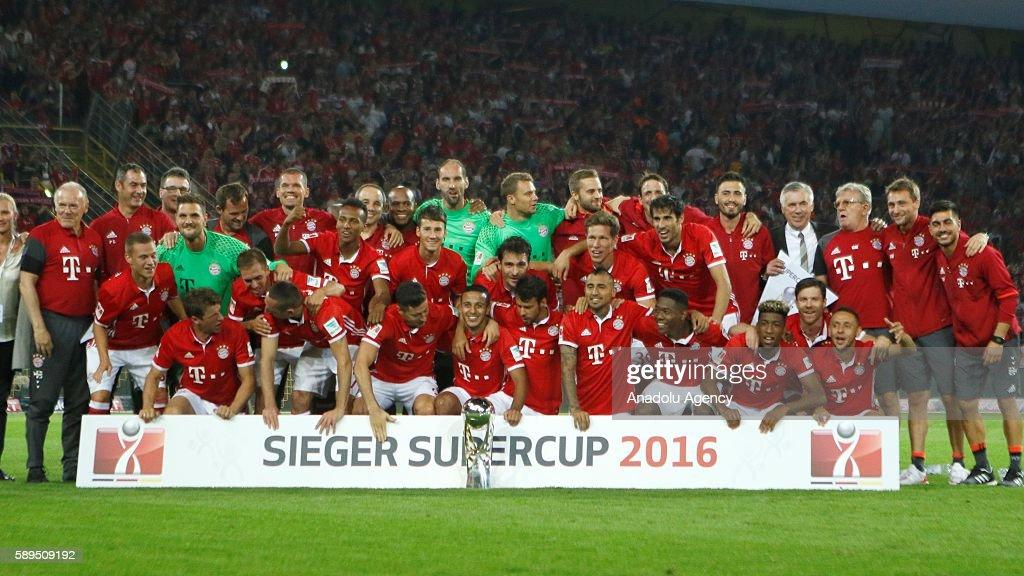 Borussia Dortmund v Bayern Munich - DFL Supercup : News Photo