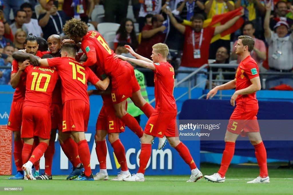 Brazil v Belgium : Quarter Final - 2018 FIFA World Cup Russia : News Photo