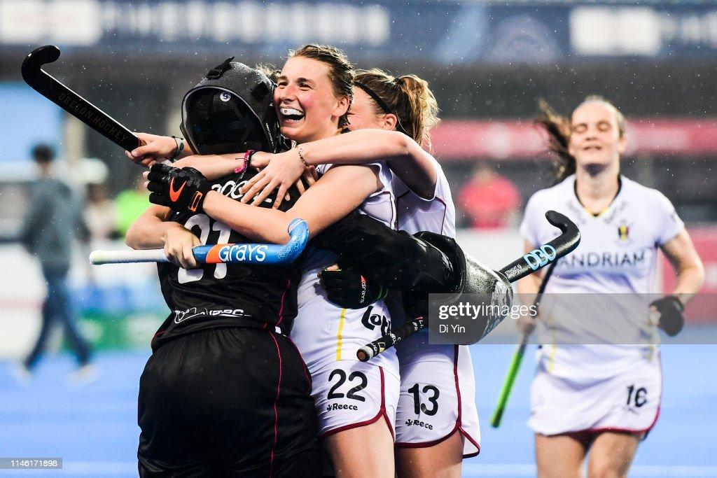 CHN: China v Belgium - Women's FIH Field Hockey Pro League