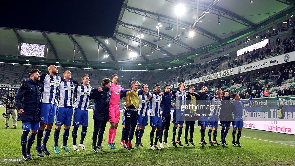 VfL Wolfsburg v Hertha BSC - Bundesliga : News Photo